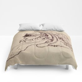 Naturally trippin' out Comforters