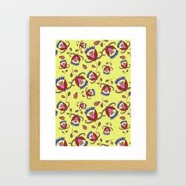 Floral pattern #4 Framed Art Print