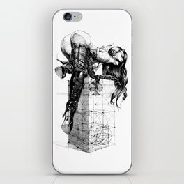 Over knees iPhone Skin