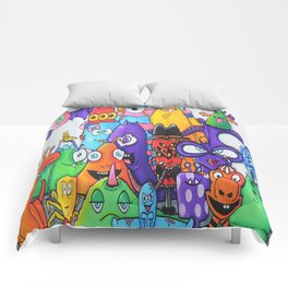 Family of Friends - Creatch Series Comforters