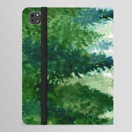 Pine Trees 2 iPad Folio Case