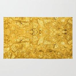 Golden. Rug