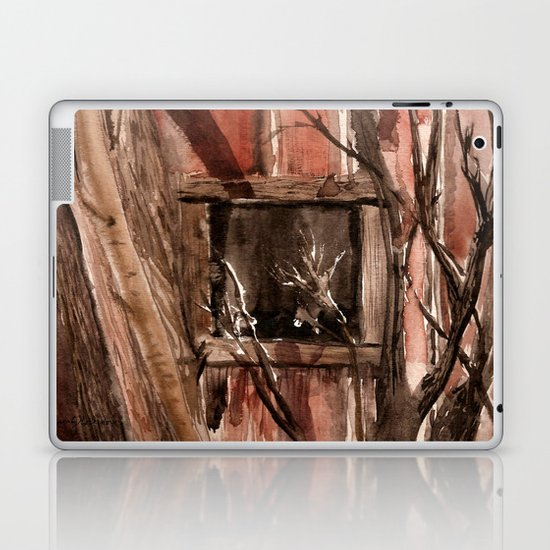 Barn window Laptop & iPad Skin