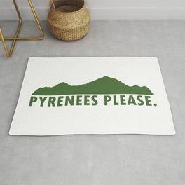 Pyrenees Please Rug