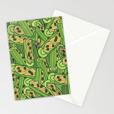 Celery & Peanut Butter Stationery Cards