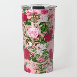 Spring In Bloom Pink Travel Mug