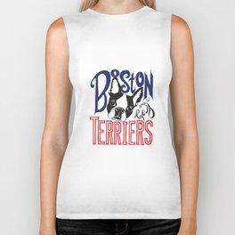 Boston Terriers are a Gas Biker Tank