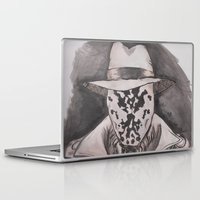 rorschach Laptop & iPad Skins featuring Rorschach  by Taylor Starnes