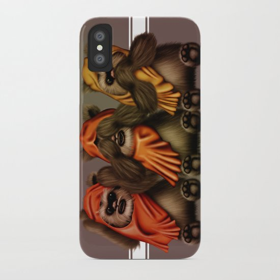 STAR WARS The Three Wise Ewoks iPhone Case