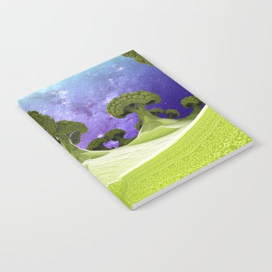 Broccoli Planet / / #fractal #fractals #3d Notebook