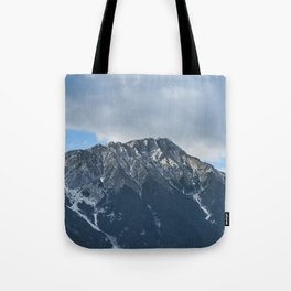 Clouds over the Mountain // Landscape Photography Tote Bag