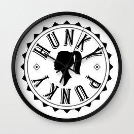 Hunky Punky - Tete #1 Wall Clock