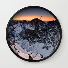 Origin of pure Nature Wall Clock