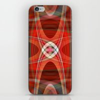 221b iPhone & iPod Skins featuring polar 221B by Matthias Hennig