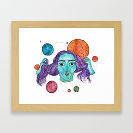 Out of this World/Out of my Mind Framed Art Print