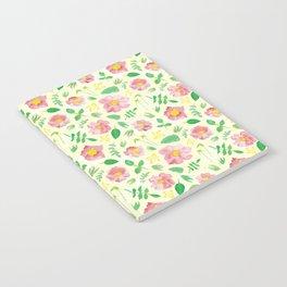California Rose Pattern Notebook