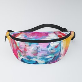 Spotted Deer Fanny Pack