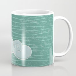 whale in the waves Coffee Mug