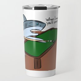 Pool Sharks Travel Mug