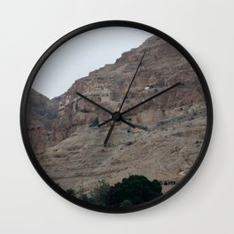 Monastery of The Temptation in Israel Wall Clock