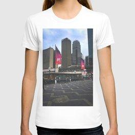 Australia Day Flags Circular Quay T-shirt
