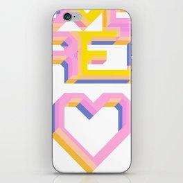 We Love Retro iPhone Skin