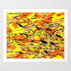 Shark: The Swarm Art Print