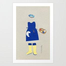 Smockstar Outfit Art Print