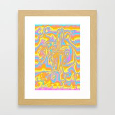 Nothing to Lean On Framed Art Print