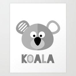 KOALA BEAR Art Print