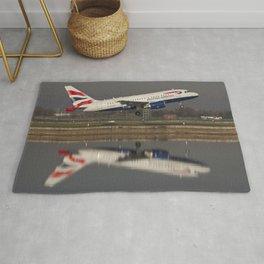 British Airways A318 Rug