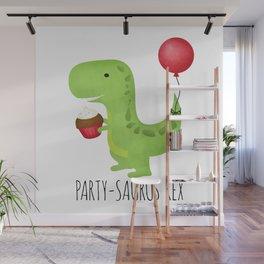 Party-Saurus Rex Wall Mural