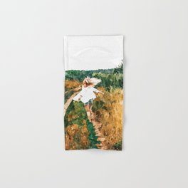 Free Spirit || #painting #nature Hand & Bath Towel