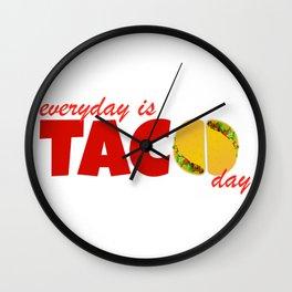Taco Day Wall Clock