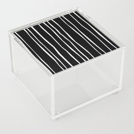 Wide Black Stripe Acrylic Box