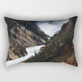 Grand Canyon of theYellowstone Rectangular Pillow