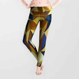 Golden Tutankhamun - Pharaoh's Mask Leggings