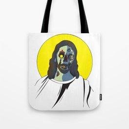 Zombie Jesus Tote Bag