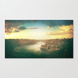 Porto landscape Canvas Print