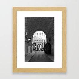 New York Building II Framed Art Print