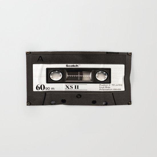 Cassette Tape Hand & Bath Towel