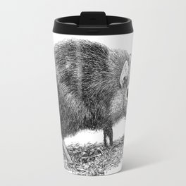 Black Shrew Travel Mug
