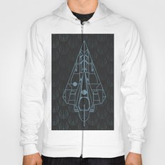 Delta-7 Jedi Starfighter Blueprint - Star.Wars Hoody