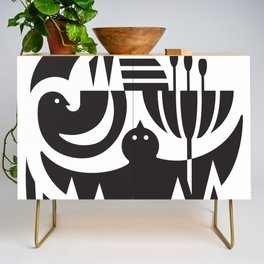 Birds in flight Credenza
