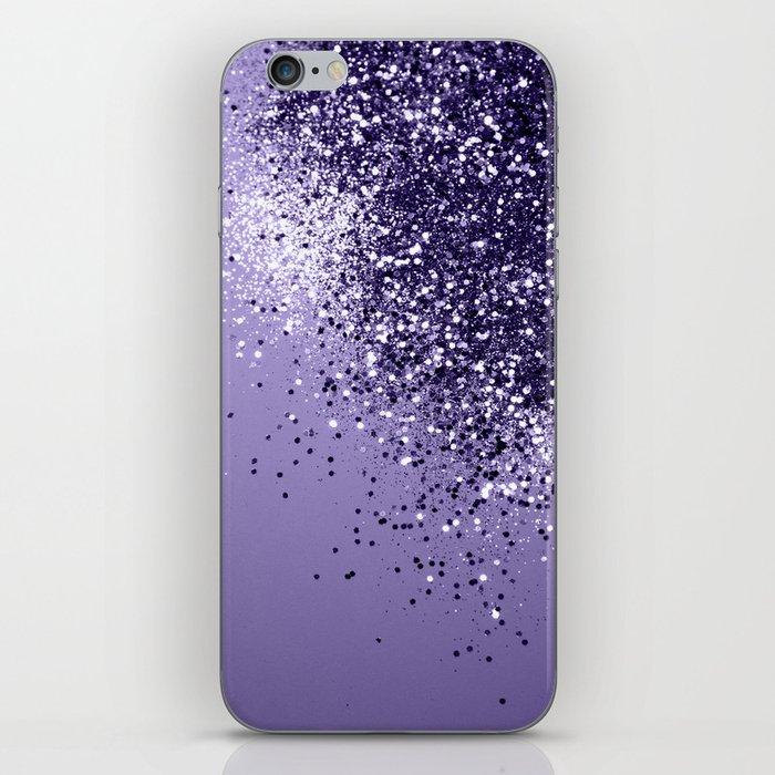 ULTRA VIOLET Glitter Dream #1 #shiny #decor #art #society6 iPhone Skin