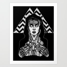 She's Filled with Secrets - Laura Palmer - Twin Peaks Art Print