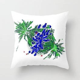 Cell Metaphase Throw Pillow