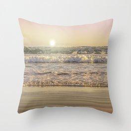 Goodmorning Sun Throw Pillow
