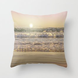 Goodmorning Sun Throw Pillow