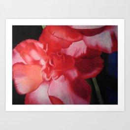 The First Flower Art Print